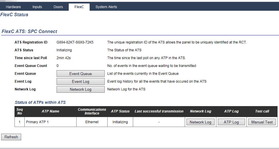 SPC Connect - connections support — Vanderbilt SPC