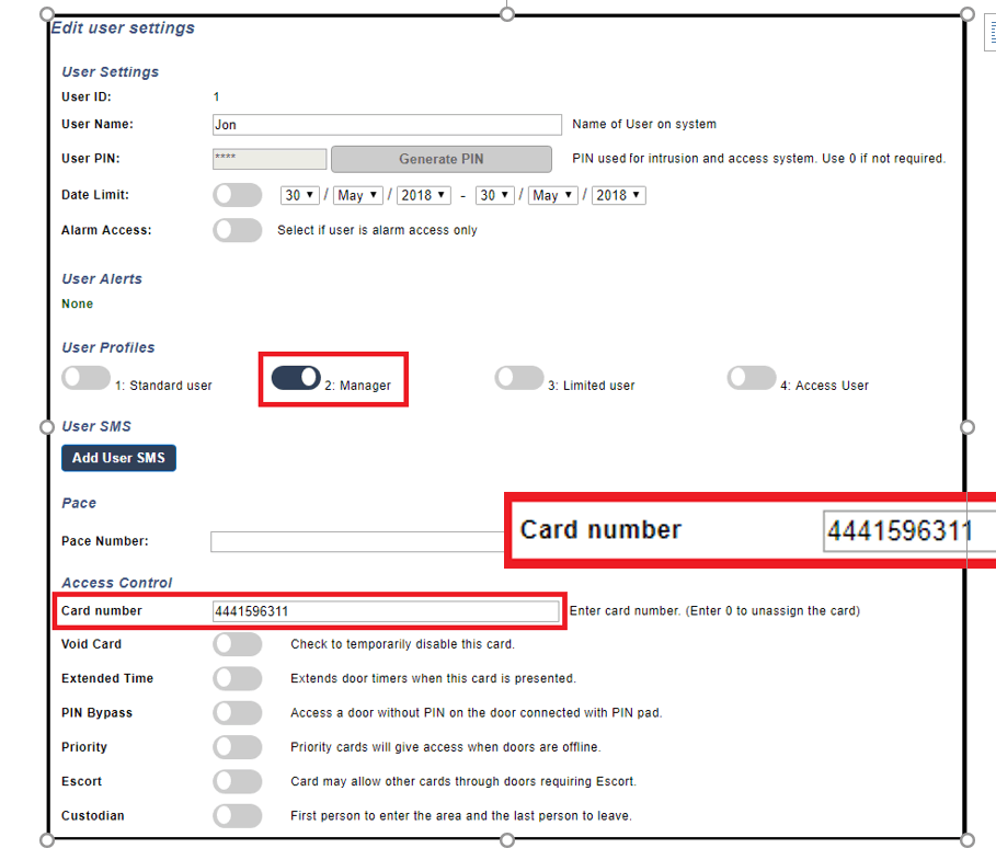 Spc  Mf1050 Access Readers To Spc